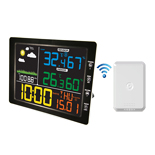 FT-8210BL Jumbo Colorful Display Remote Weather Station