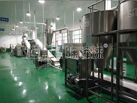 食药工质局检查米粉生产企业