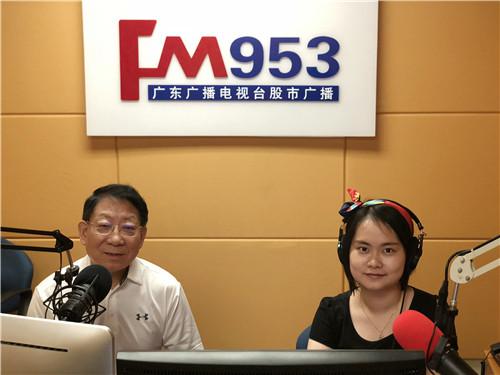 全國人大代表、中盈盛達董事長吳列進作客《金融大講堂》