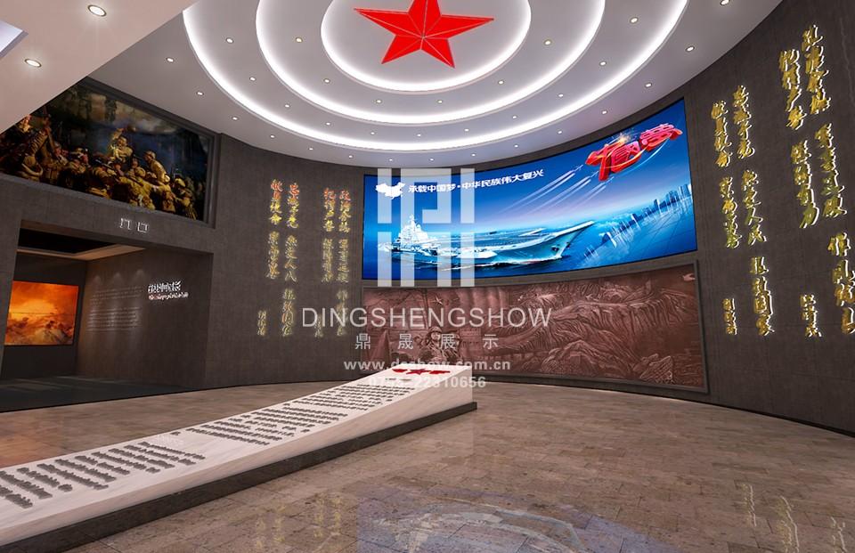 中国人民解放军第42集团军124师文化展厅