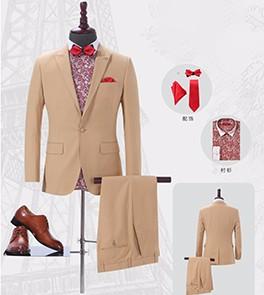 男士西服套装-HQY9003