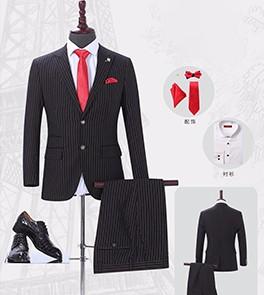 男士西服套装-HQY9007