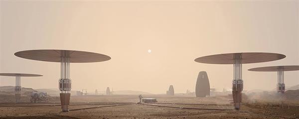 MARSHA:一个3D打印的垂直火星栖息地
