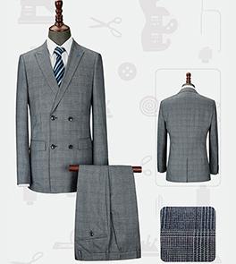 男韩版西服套装-LX-1098(定制)