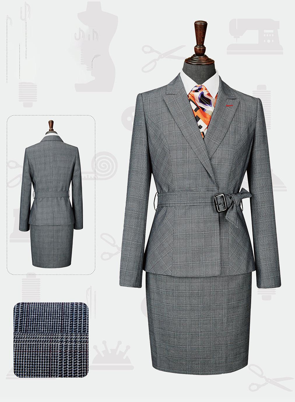 女西服套装-LX-1098(样衣定制款)