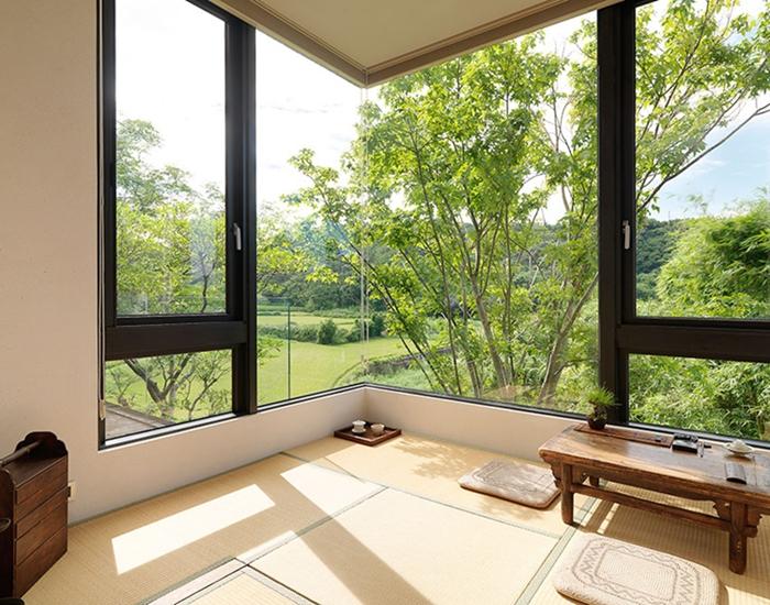 自然风现代简约住宅,把大自然挂上墙