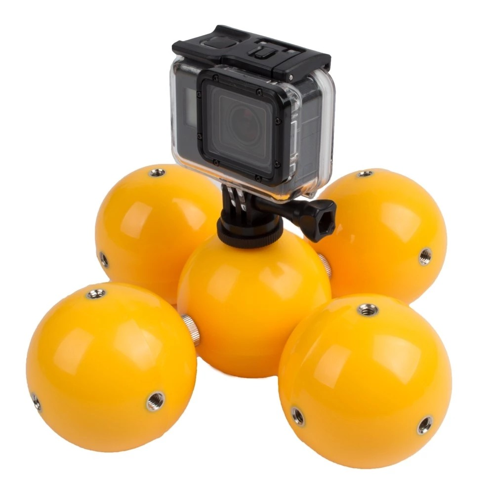 Private Self-design Exclusive debut floaty ball for Gopros heros 5 4 3+ 3 2 Sj4000 Sj5000 Xiaomis Yi Camera