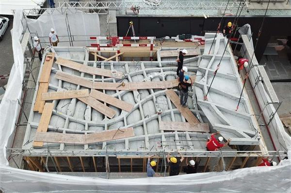 苏黎世理工学院为DFAB House建造80平方米的3D打印天花板
