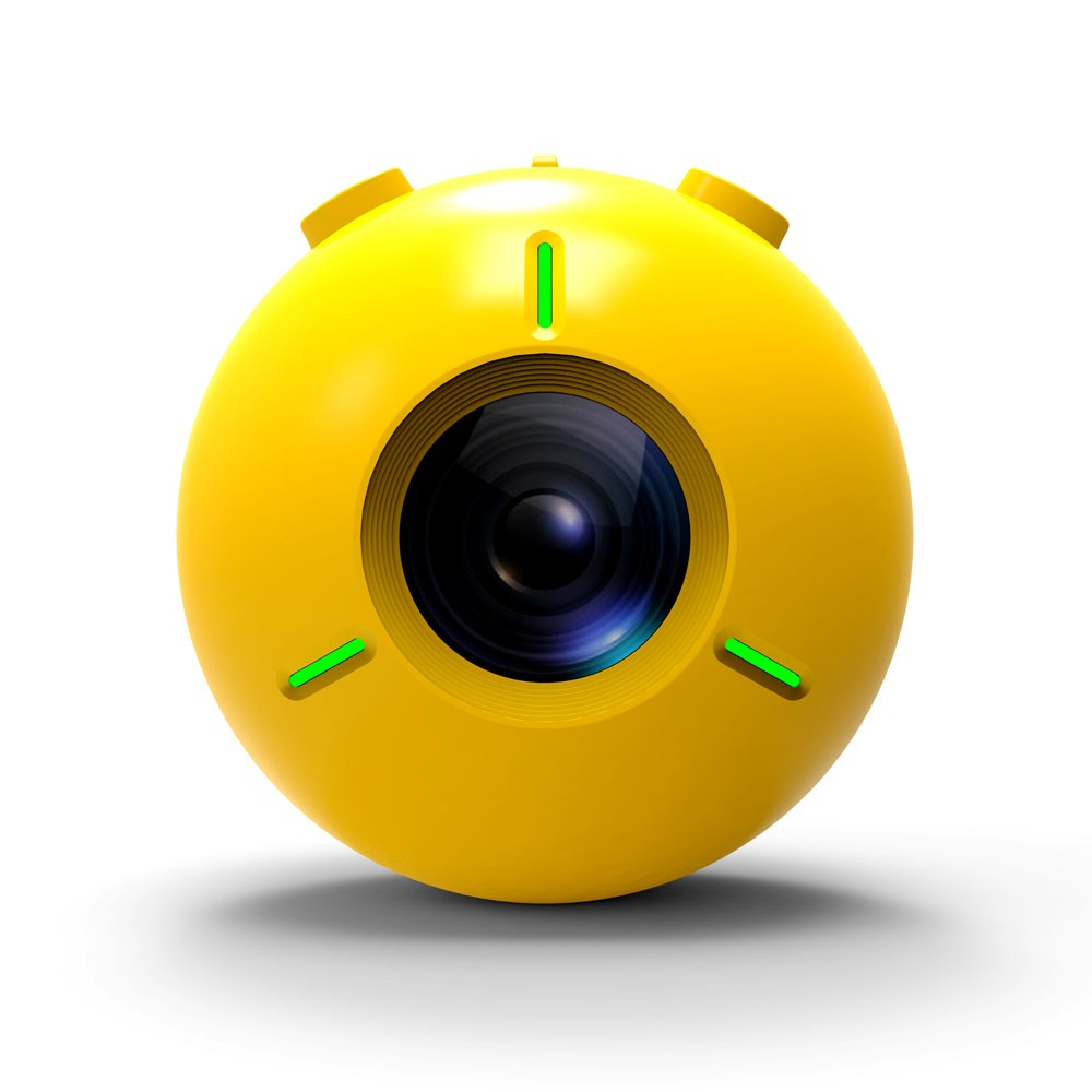 Kalacam K2 4K HD Floating Waterproof Action Camera, Yellow