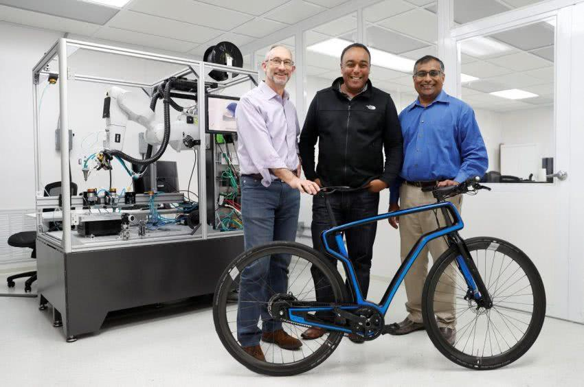 Arevo推出3D打印碳纤维电动自行车eBike