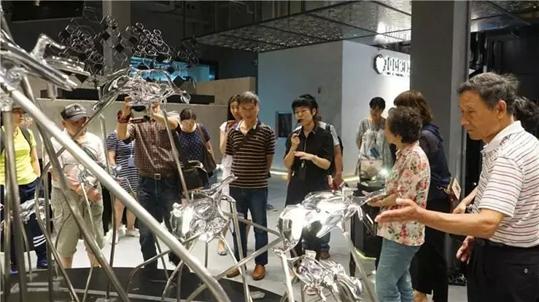 """""""3D打印""""走进上海旅游大课堂"""
