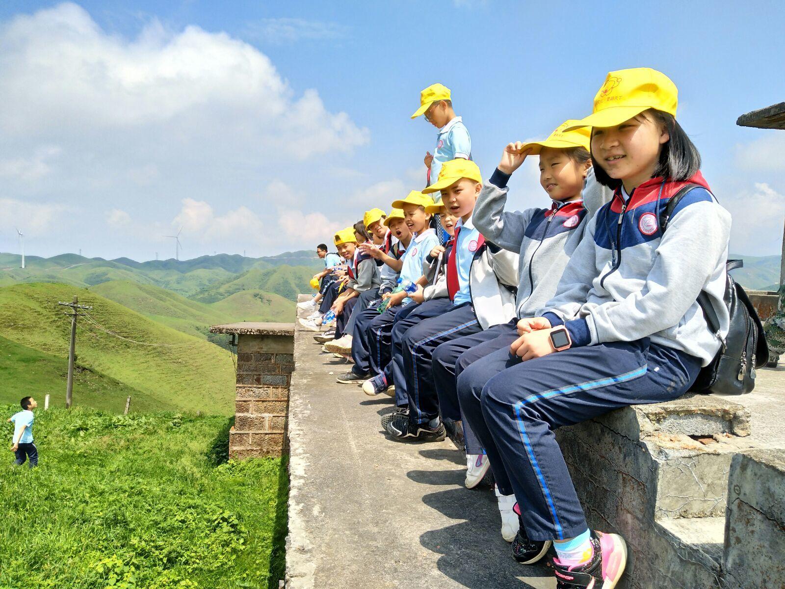 爱席文化·武冈千赢国际app手机版学校南山生态体验研学之旅完美收官