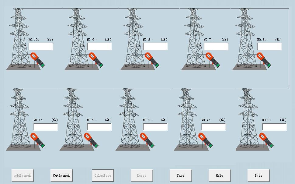 ETCR2000系列钳形接地电阻仪现场应用