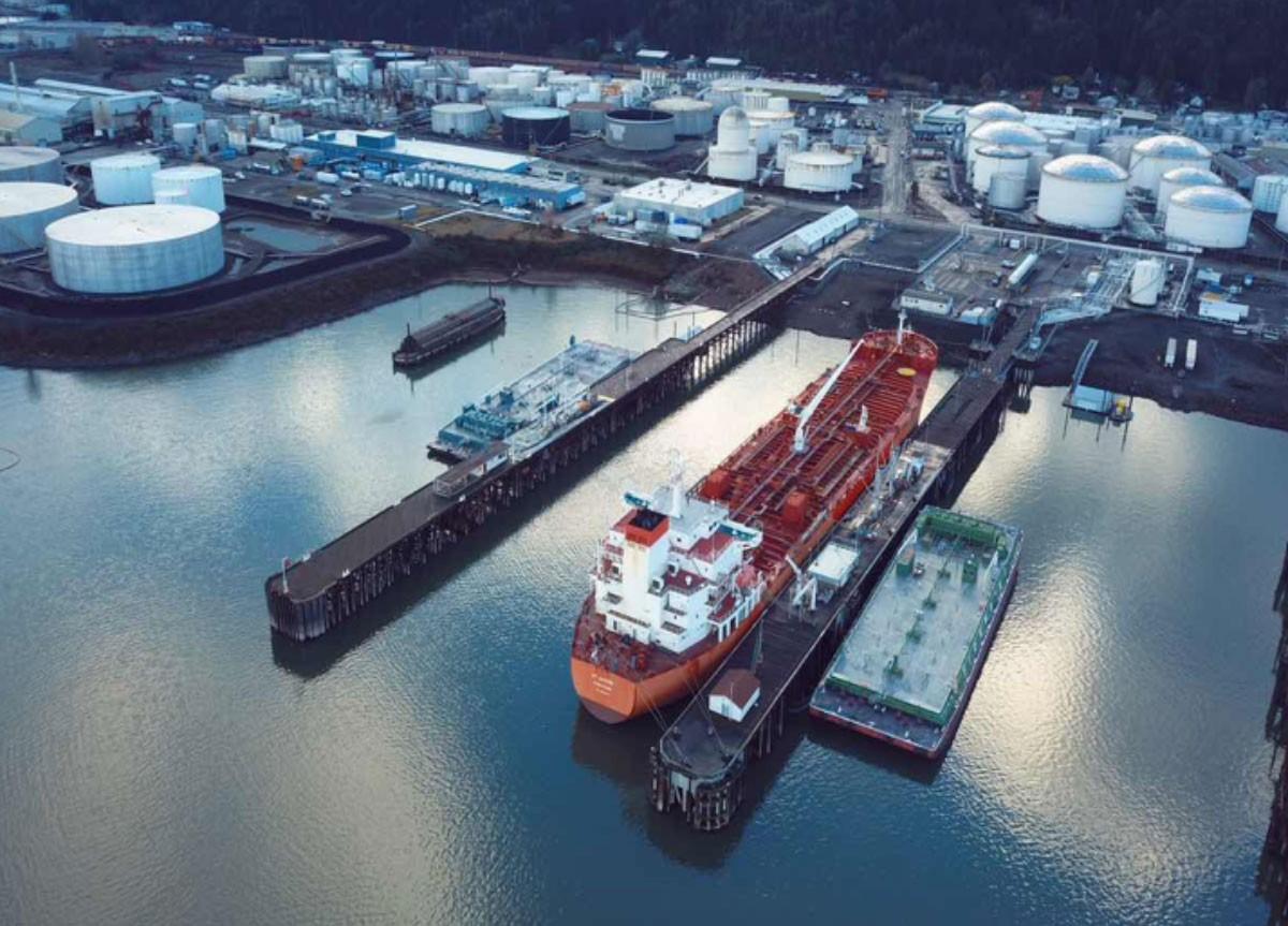 第一船自主品牌原油即将到港
