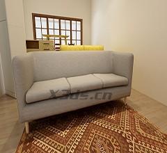 大型沙发三维扫描
