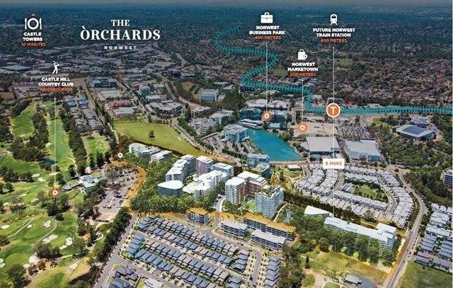 悉尼精品项目——THE ORCHARDS