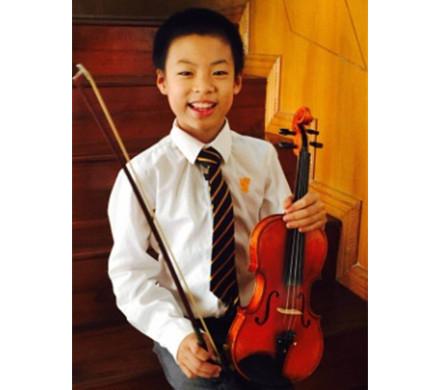 小提琴五级优秀考生- 陈鹏