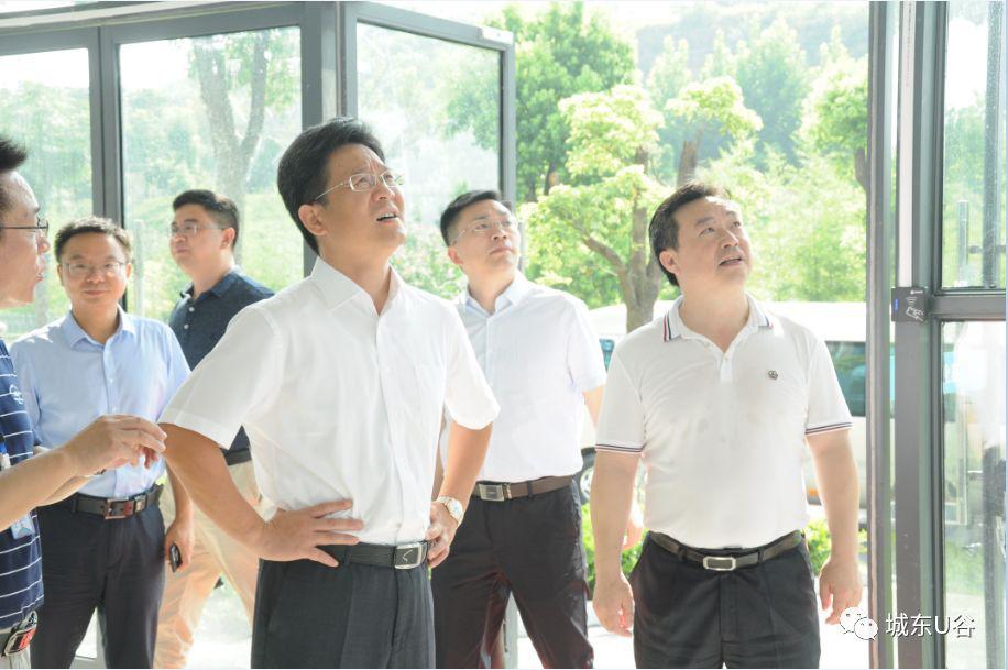 宜昌市委常委、组织部长汪伟等一行考察beplay体育ios版下载得全资子公司湖北康肽药业