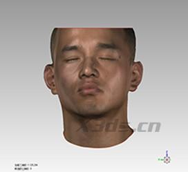 人体人脸三维扫描案例