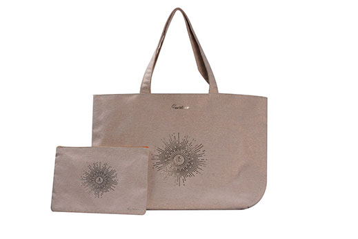 tote bag and flat purse