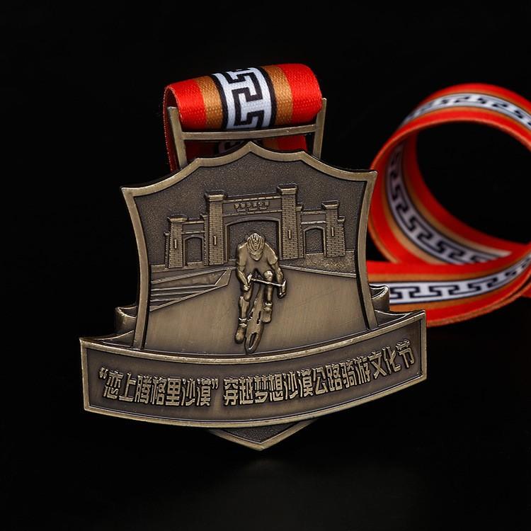 专业定制金属奖牌 马拉松颁奖比赛活动个性奖牌 运动会通用奖章