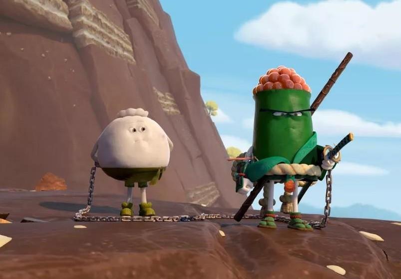 雨桥动画:《美食大冒险之英雄烩》,让包子带你飞
