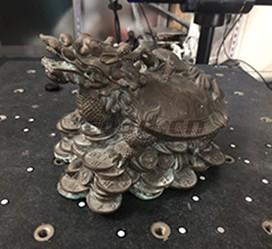 """古文物""""龙龟兽""""三维扫描"""