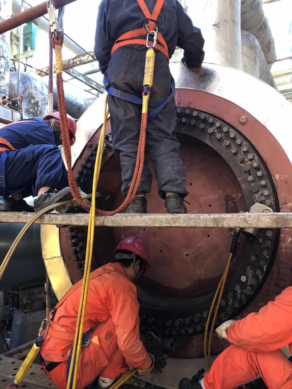 拜尔工程技术部全力服务中石油各大项目检修工程