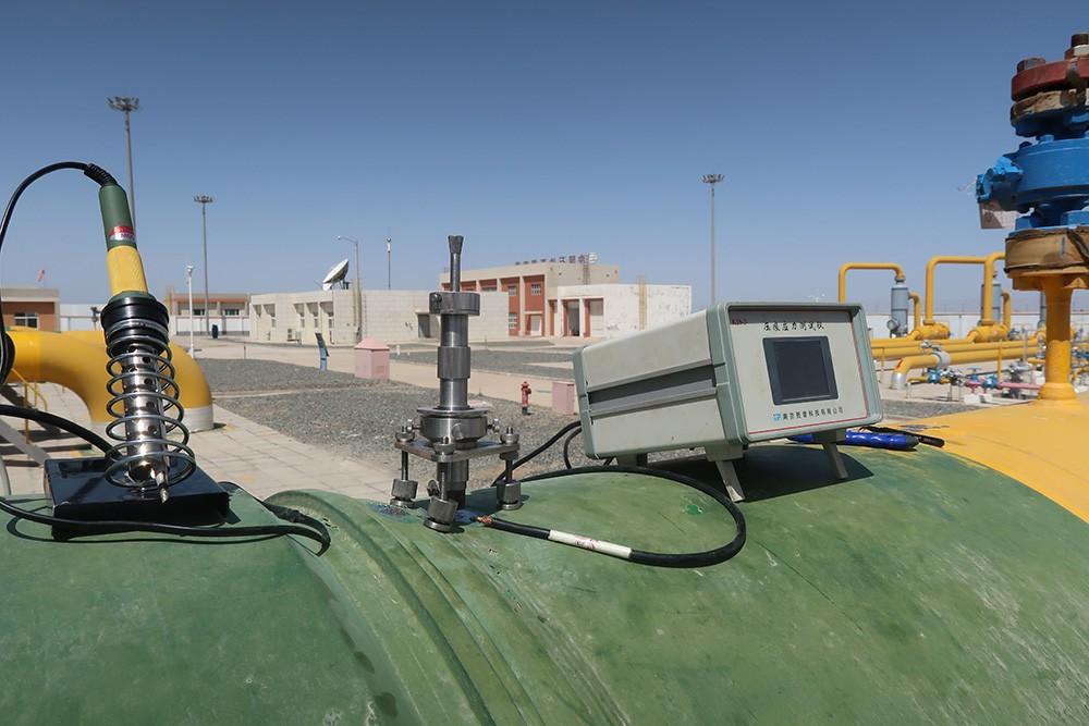 站内循环控制阀门、输油管线的优发国际顶级在线检测--中国石油西部管道某压气站