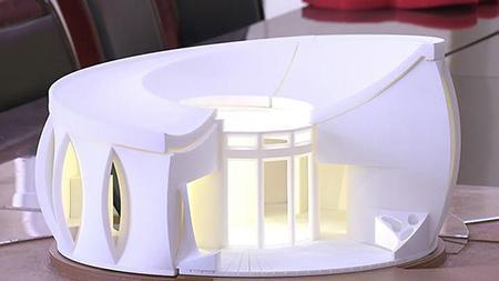 """揭秘""""莲花之居""""的3D打印技术:低碳又漂亮的艺术品!"""