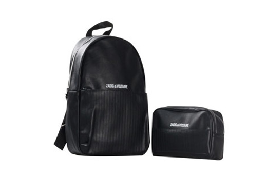 backpack and cosmetic pouch set of 2