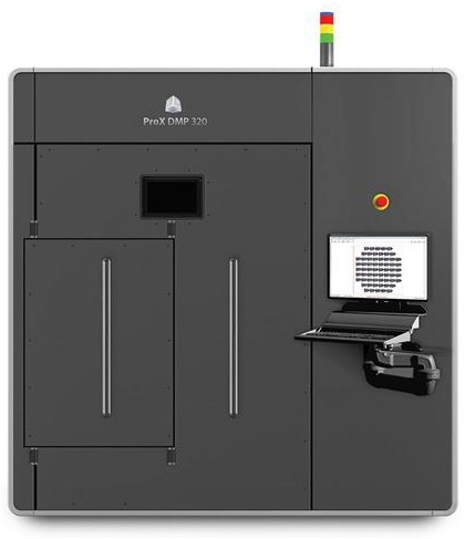 3D Systems Launches ProX DMP 320 for High Precision, High Throughput Direct Metal Printing