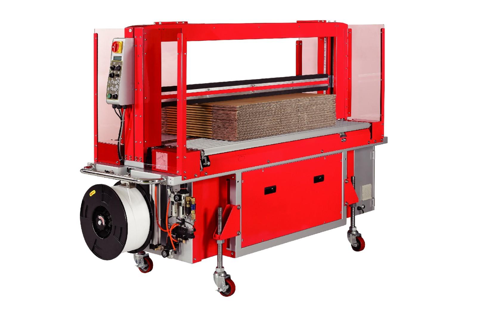 ----------TP-702C 系列---------- 高速瓦楞纸箱捆包机