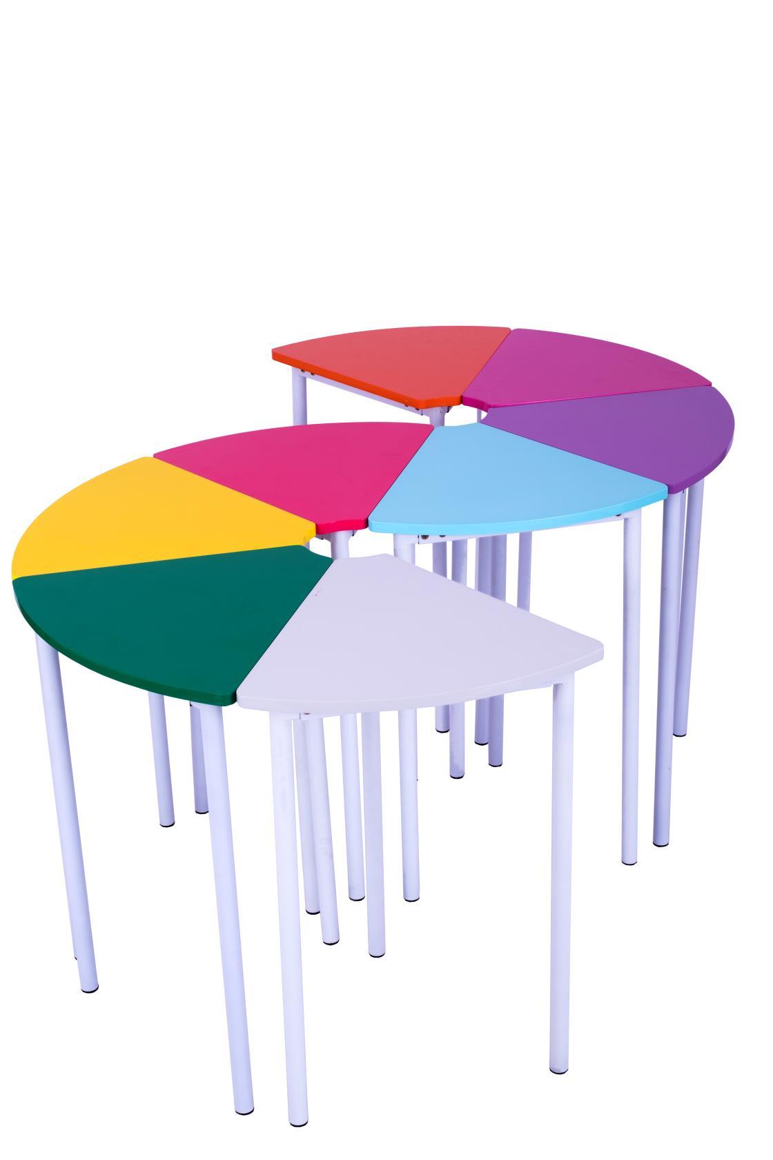 团体活动桌椅(套装)