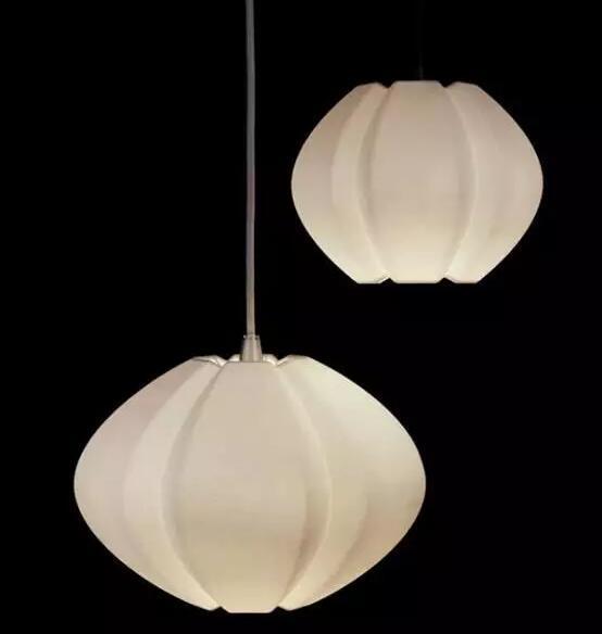 形似传统油灯的精美3D打印灯罩