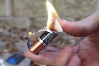制作电池火柴