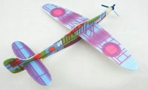 自制吹塑纸滑翔机