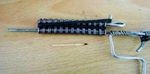自制火柴链条枪