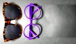 自制针孔眼镜