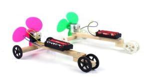 制作空气浆电动赛车