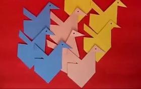 排列组合纸鹤