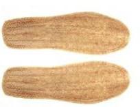 自制植物鞋垫
