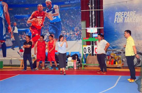 競舞青春——網信安全 - 興業銀行籃球友誼賽掠影