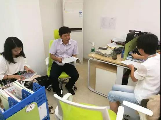 2018年秋龙华区教科院领导莅临深圳市格睿特高级中学视导