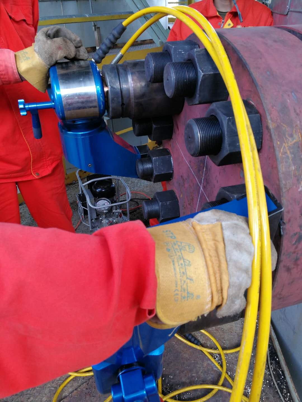 拜尔液压(Baier)液压扳手在某石油化工企业现场使用