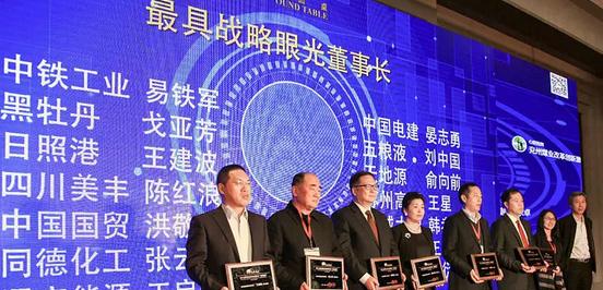 """中铁工业荣获""""金圆桌奖""""三项大奖"""