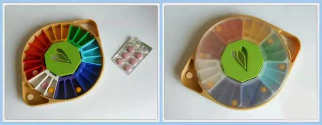 炫彩3D打印药片收纳盒,为服药病患带来好的心情