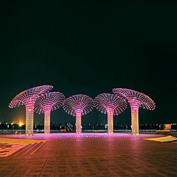 户外光彩造型灯