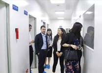 以色列驻华大使馆商务参赞到访陕西bob棋牌生物