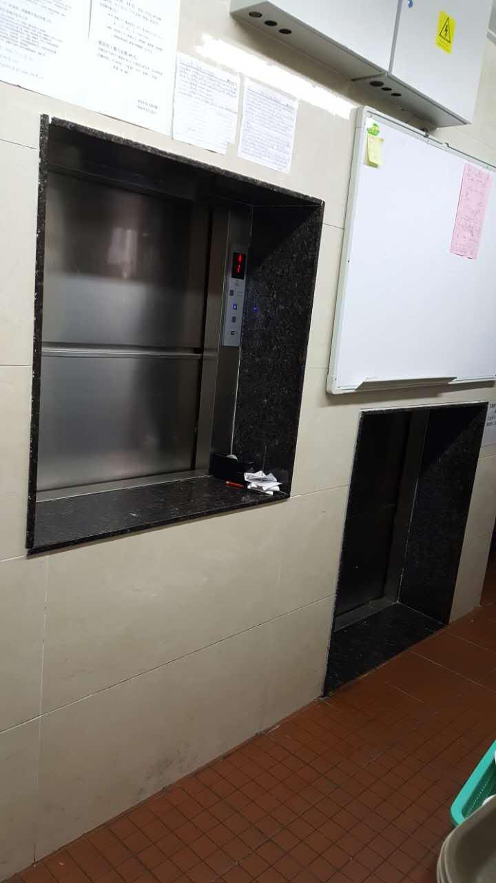 窗口傳菜電梯